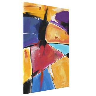 "Impression sur toile, Grand modèle ""Abstract 1445"""