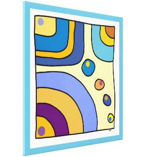 """Impression sur toile grand modèle """"Bubble Gum Art"""""""