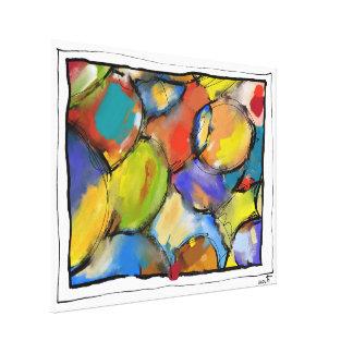 """Impression sur toile, grand modèle, """"Cells 1409"""""""