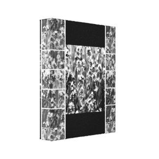 Impression sur toile Lavande Noir & Blanc Toiles