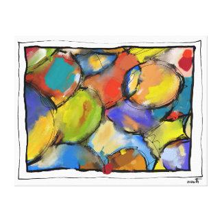 """Impression sur toile, moyen modèle, """"Cells 1409"""""""