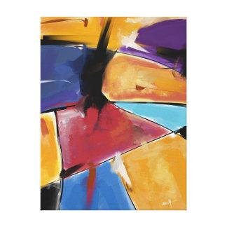 """Impression sur toile, petit modèle """"Abstract 1445"""""""