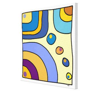 """Impression sur toile petit modèle """"Bubble Gum Art"""""""