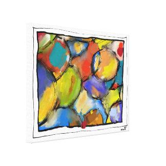 """Impression sur toile, très petit, """"Cells 1409"""""""