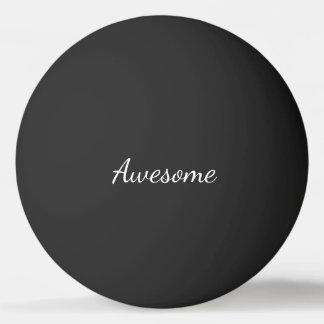 Impressionnant noir et blanc personnalisé balle tennis de table