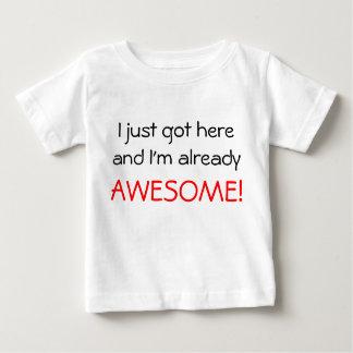 Impressionnant T-shirt Pour Bébé