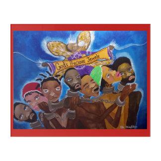 Impressions En Acrylique Afro-américain - Hébreux - les bijoux précieux de