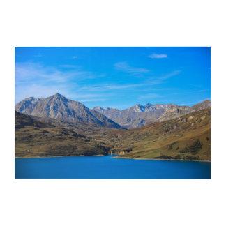 Impressions En Acrylique Alpin