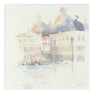 Impressions En Acrylique Aquarelle de Venise