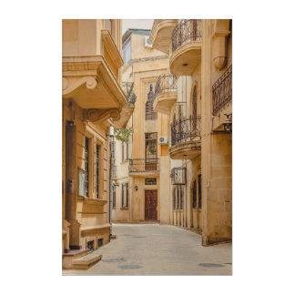 Impressions En Acrylique Architecture arabe antique de l'Azerbaïdjan