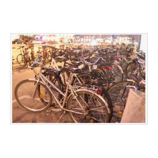 Impressions En Acrylique Bicyclettes Copanhagen Danemark