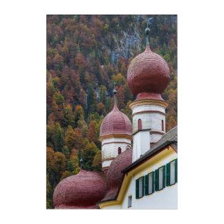 Impressions En Acrylique Chapelle de St Bartholoma, Bavière