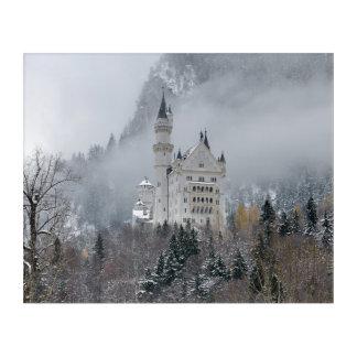 Impressions En Acrylique Château de Neuschwanstein en Bavière, Allemagne