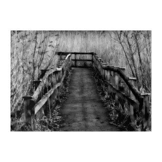 Impressions En Acrylique Chemin de promenade de campagne