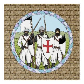 Impressions En Acrylique Chevaliers Templar
