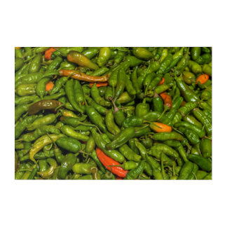 Impressions En Acrylique Chilis à vendre au marché