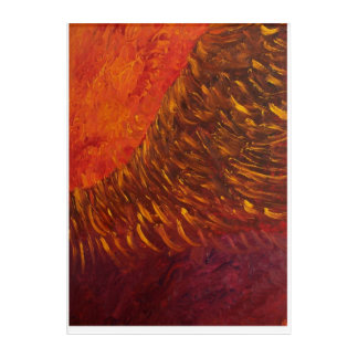 Impressions En Acrylique Combustion de Phoenix