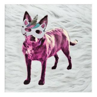 Impressions En Acrylique Copie acrylique de Dogicorn (12x12)