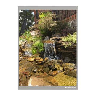Impressions En Acrylique Copie de cascade