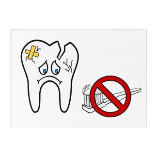 Impressions En Acrylique Dentiste