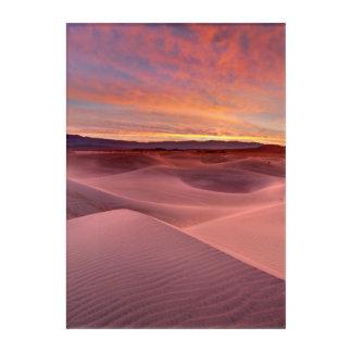 Impressions En Acrylique Dunes de sable roses, Death Valley, CA