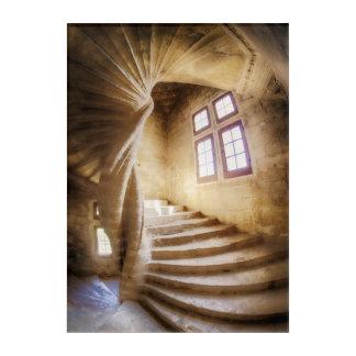 Impressions En Acrylique Escalier beige de spirl, France