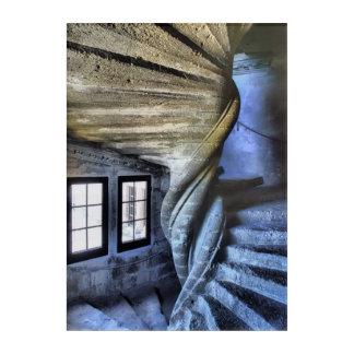 Impressions En Acrylique Escalier en spirale tordu, France