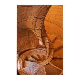 Impressions En Acrylique Escalier en spirale tordu, Portugal