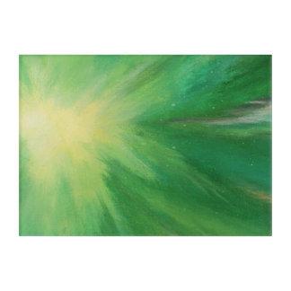 Impressions En Acrylique Étoiles de explosion abstraites