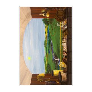 Impressions En Acrylique Fenêtre de distillateurs - 24x36