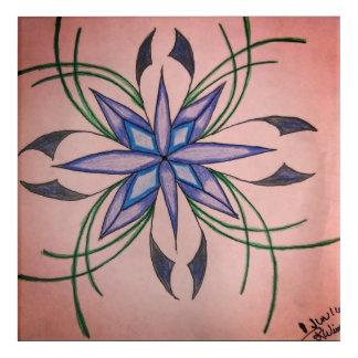 Impressions En Acrylique Fleur de l'inspiration !