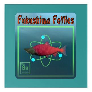 Impressions En Acrylique Folies de Fukushima