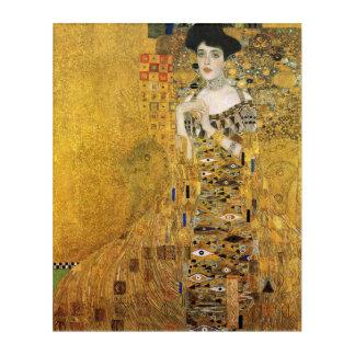 Impressions En Acrylique GUSTAV KLIMT - Portrait d'Adele Bloch-Bauer 1907