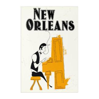Impressions En Acrylique Honky Tonk de la Nouvelle-Orléans