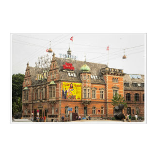 Impressions En Acrylique Jardins Copenhague Danemark de Tivoli