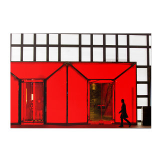Impressions En Acrylique La Chine, centre commercial de luxe de Pékin  