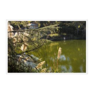 Impressions En Acrylique Lac 3 park de canyon de Franklin