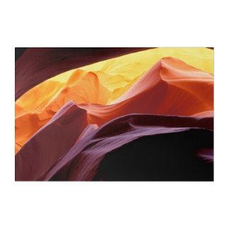 Impressions En Acrylique L'Arizona, formations de grès du canyon | de Paria