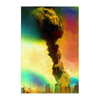 Impressions En Acrylique Le champignon atomique