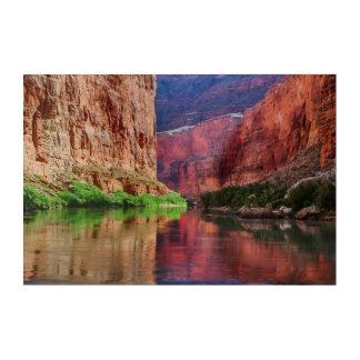 Impressions En Acrylique Le fleuve Colorado en canyon grand, AZ
