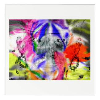 Impressions En Acrylique Madame aime l'aura