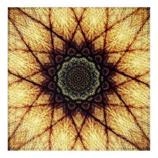 Impressions En Acrylique Mandala à haute fréquence