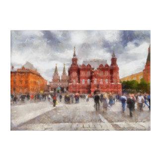Impressions En Acrylique Moscou, Russie, place de Manezhnaya