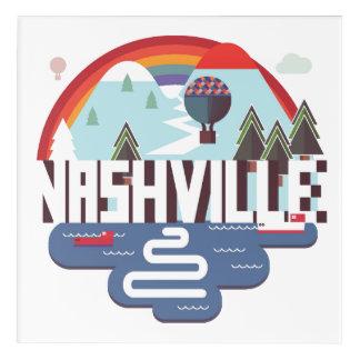 Impressions En Acrylique Nashville dans la conception