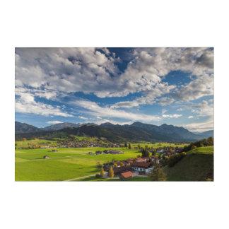 Impressions En Acrylique Paysage alpin bavarois