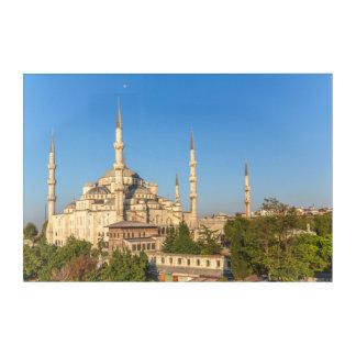 Impressions En Acrylique Paysage bleu de mosquée