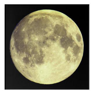 Impressions En Acrylique Pleine lune