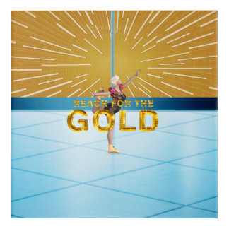 Impressions En Acrylique Portée SUPÉRIEURE pour l'or