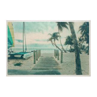 Impressions En Acrylique Promenade en bois sur la plage de Smathers, Key