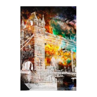 Impressions En Acrylique Respirez encore les rêves de Londres
